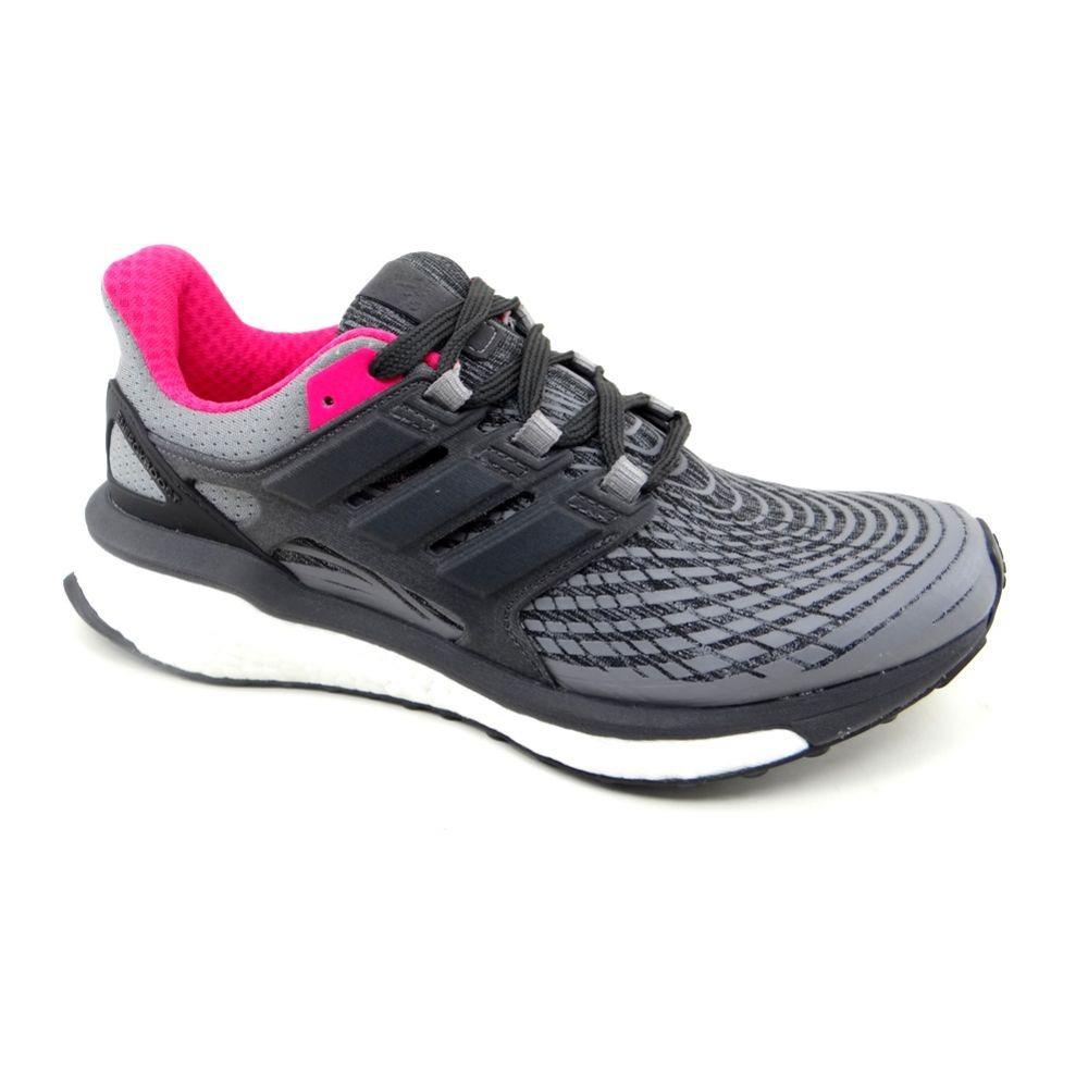 bb29474672 tênis running feminino adidas energy boost w cinza pink ... Carregando zoom.