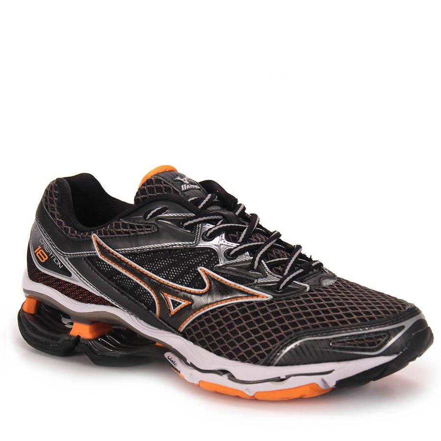 e35da38d830 tênis running masculino mizuno wave creation 18 - preto. Carregando zoom.