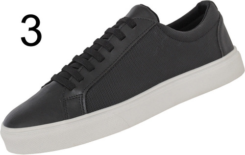 tênis sapatenis casual social calce fácil lançamento