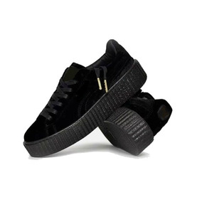cf070ef29 Sapato Creeper Preto Feminino - Sapatos com o Melhores Preços no ...