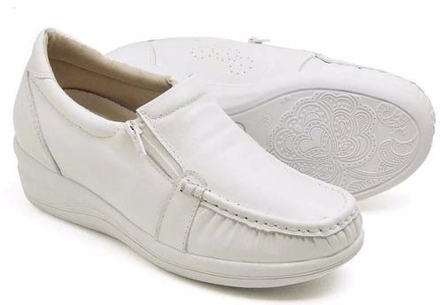 tênis sapatenis sapato mocassim feminino estilo usaflex cour