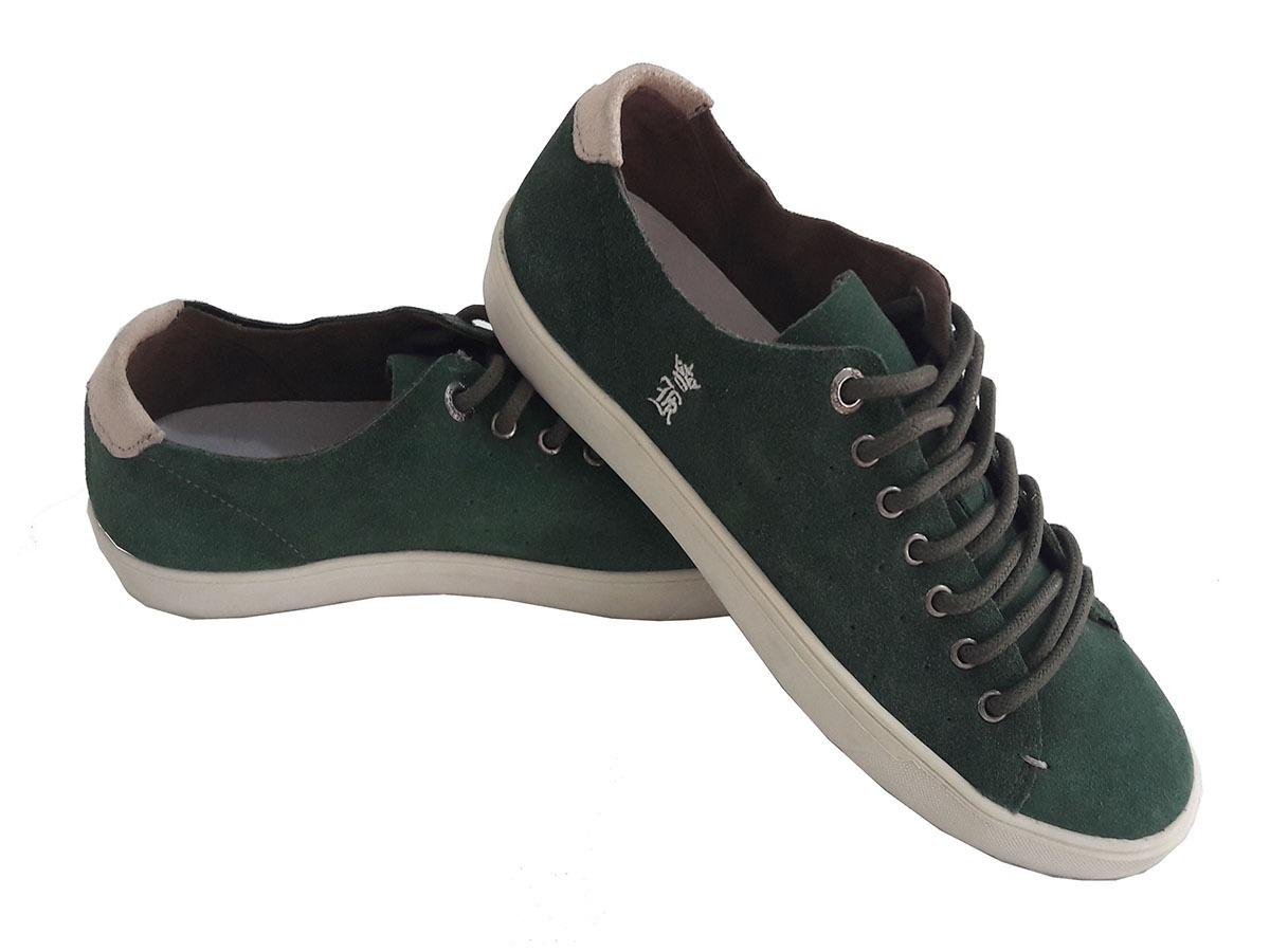 36d19a005c0 tênis sapatenis sergio k verde masculino original. Carregando zoom.