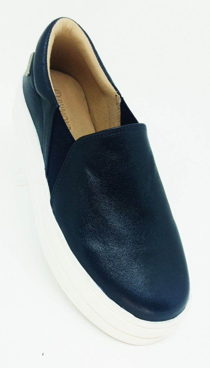 6abdf8009 tênis sapatilha sapatenis feminino azul marinho dumond. Carregando zoom.