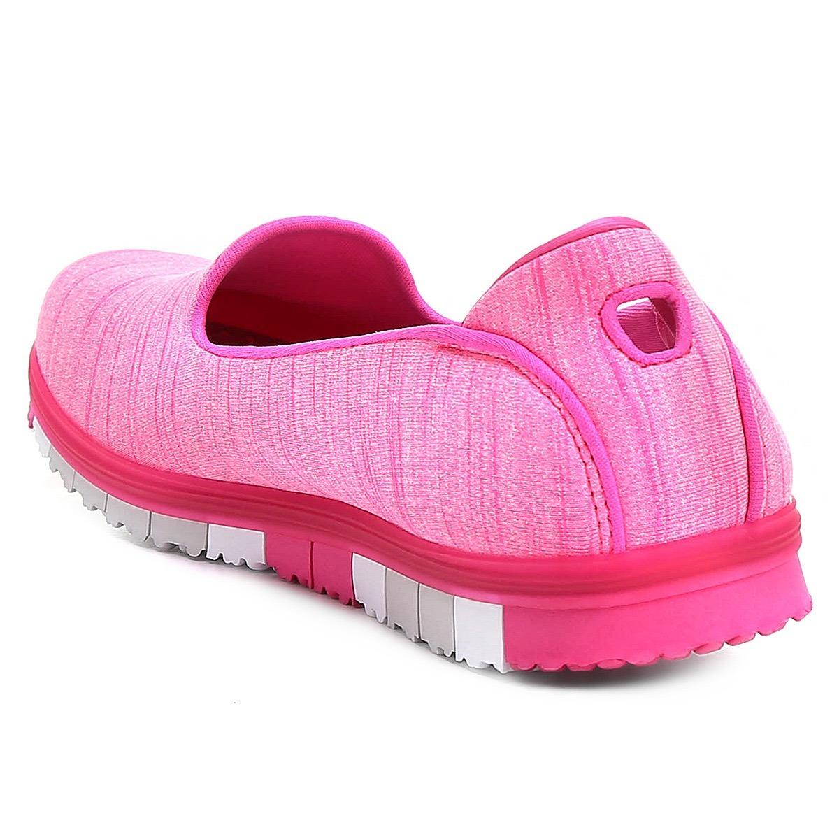 e66ada170ff tênis sapatilha skechers go mini flex walk pink feminina. Carregando zoom.