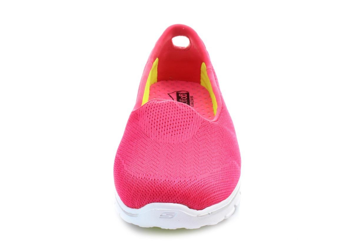 a239426b5 tênis sapatilha skechers go walk 3 insight hot pink feminino. Carregando  zoom.