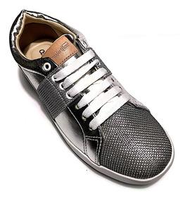 eaeeabc52 Tenis Veterinaria - Sapatos para Feminino Prateado com o Melhores Preços no  Mercado Livre Brasil