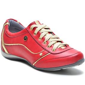 db8d5cf395 Sapatenis Em Couro Mr.foot Feminino - Tênis para Feminino Urbano ...