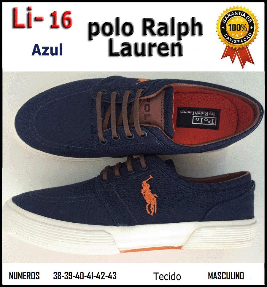 40bb098eeb Tênis | Sapatênis Polo Ralph Lauren - Original - R$ 119,99 em ...