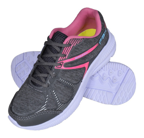 tênis / sapato feminino fb corrida academia fitness