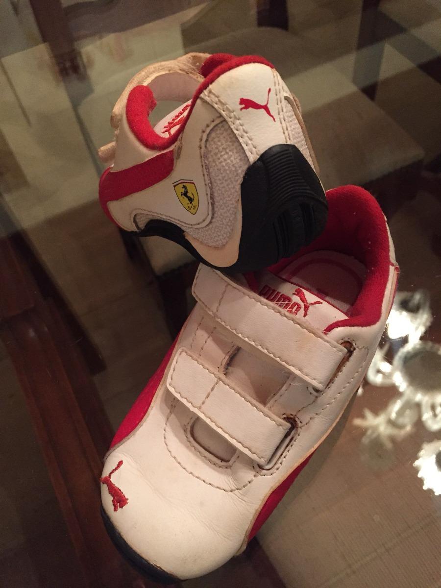 d9a0bdeec5 tênis sapato infantil puma ferrari branco tam 22. Carregando zoom.