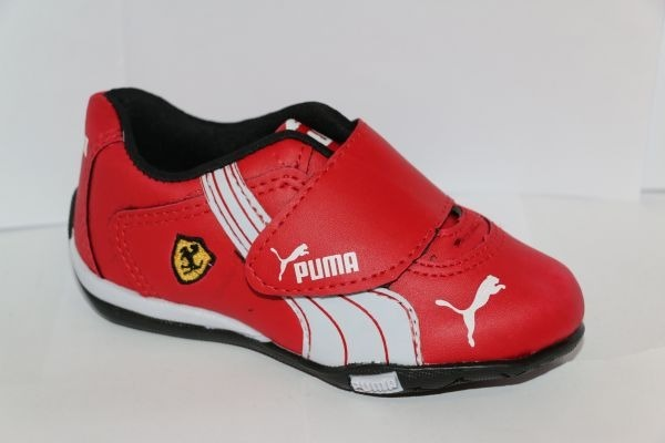 Tênis Sapato Puma Ferrari Criança Infantil Menino Vermelho - R  95 ... 632218f62f893