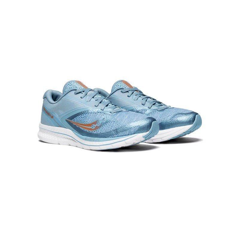 cf86cdf2686 tênis saucony kinvara 9 azul feminino. Carregando zoom.