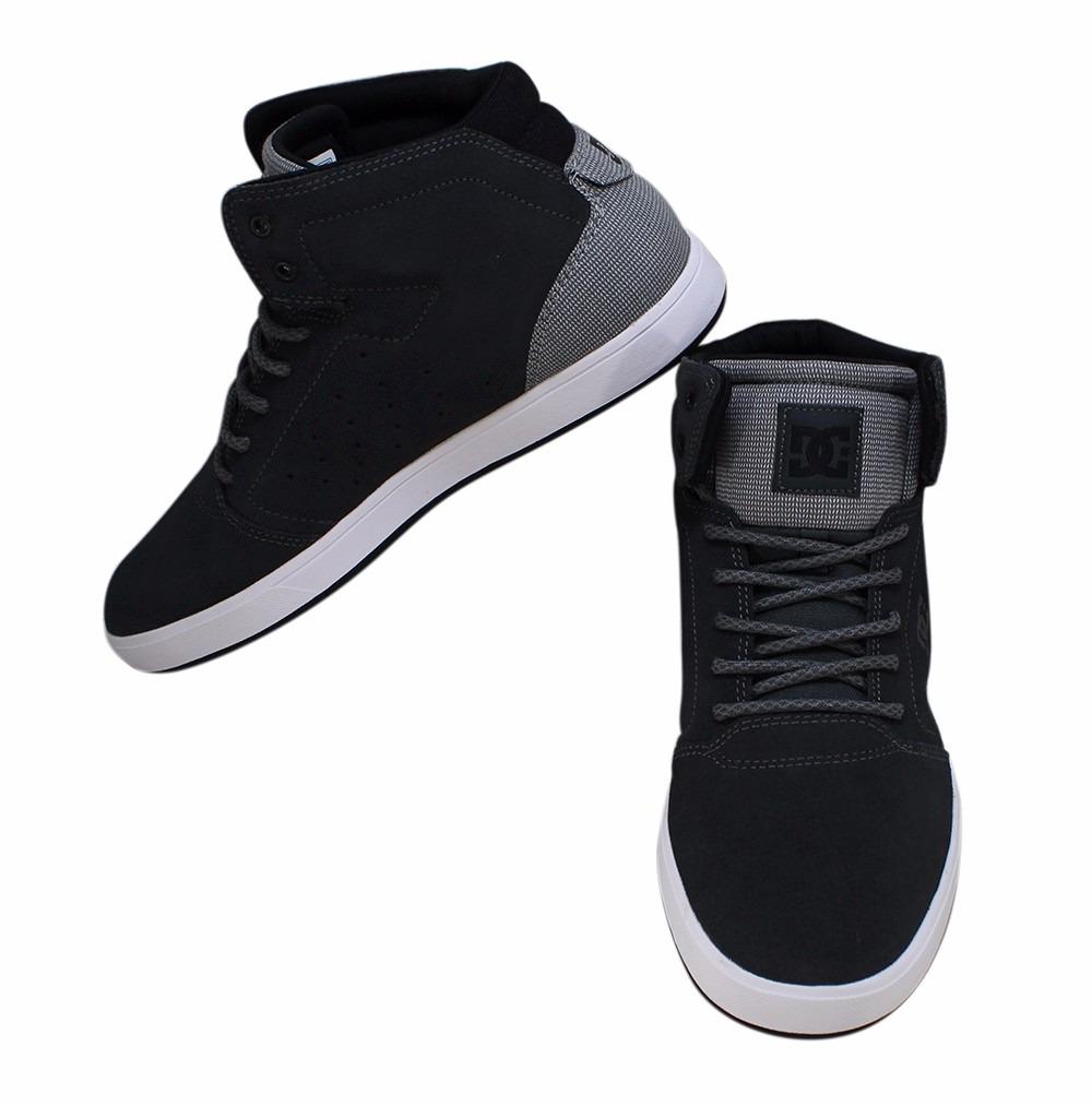 8084ed3f58 tênis skate dc shoes grafite cinza confortavel original. Carregando zoom.