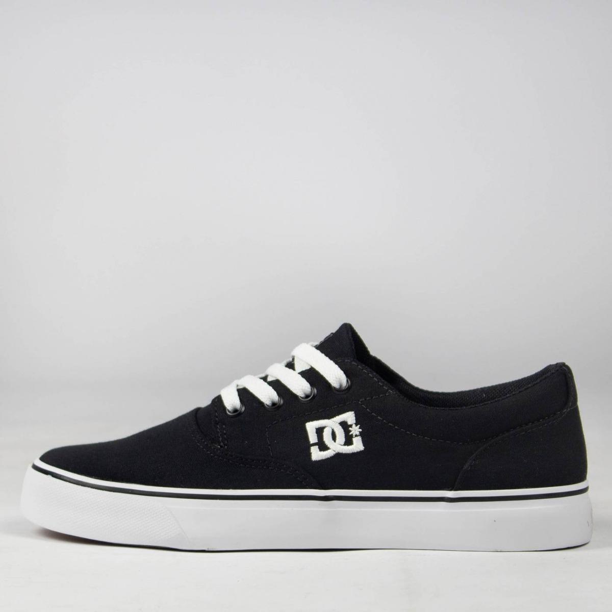9280ac4a7f tênis skate dc shoes new flash 2 tx black white original. Carregando zoom.