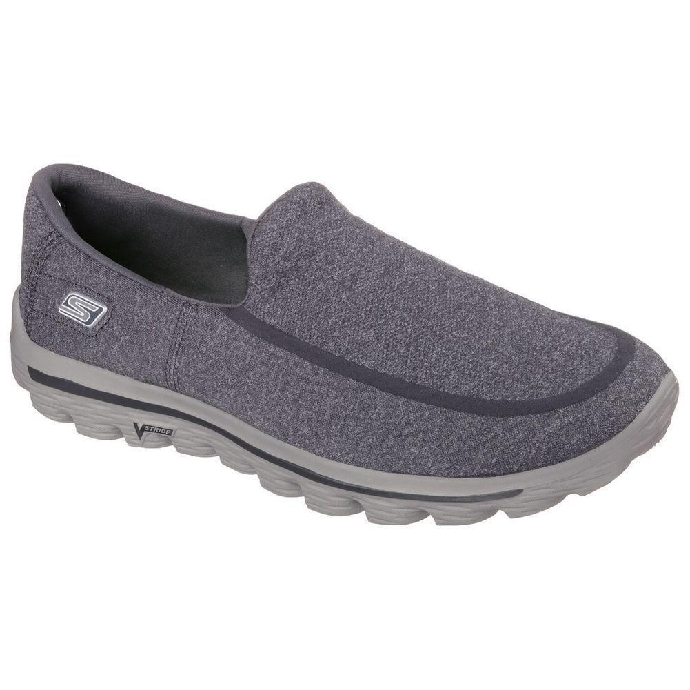 2afb660bdf5 tênis skechers go walk 2 super sock cinza masculino. Carregando zoom.