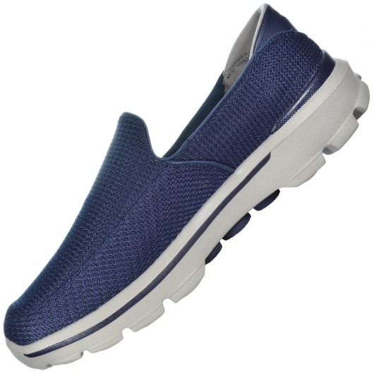 f1943eba4 Tênis Skechers Go Walk 3 Marinho 53980-nvgy Loja Sports Att - R  249 ...