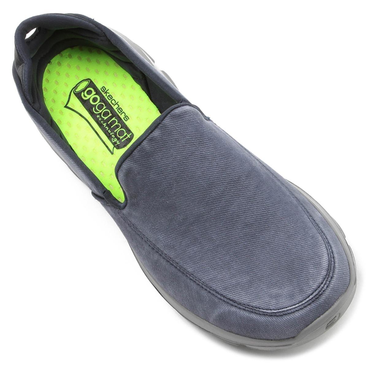 119a125c3 tênis skechers go walk 3 unwind masculino caminhada azul. Carregando zoom.