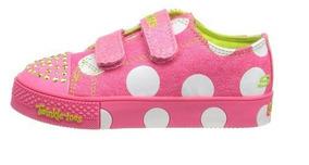 410a102fa79 Tenis Infantil Com Luz Skechers - Tênis Meninas Casuais no Mercado ...