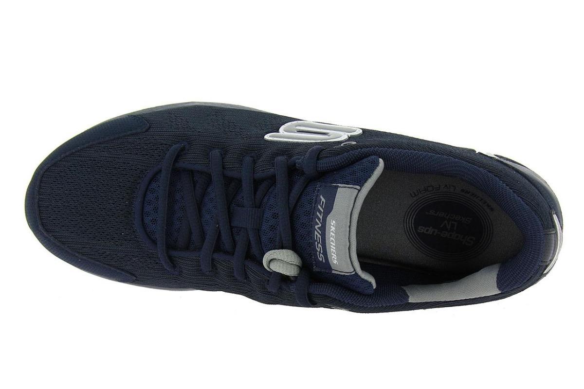 4e2ecb9895e tênis skechers shape ups liv dual damage azul masculino. Carregando zoom.
