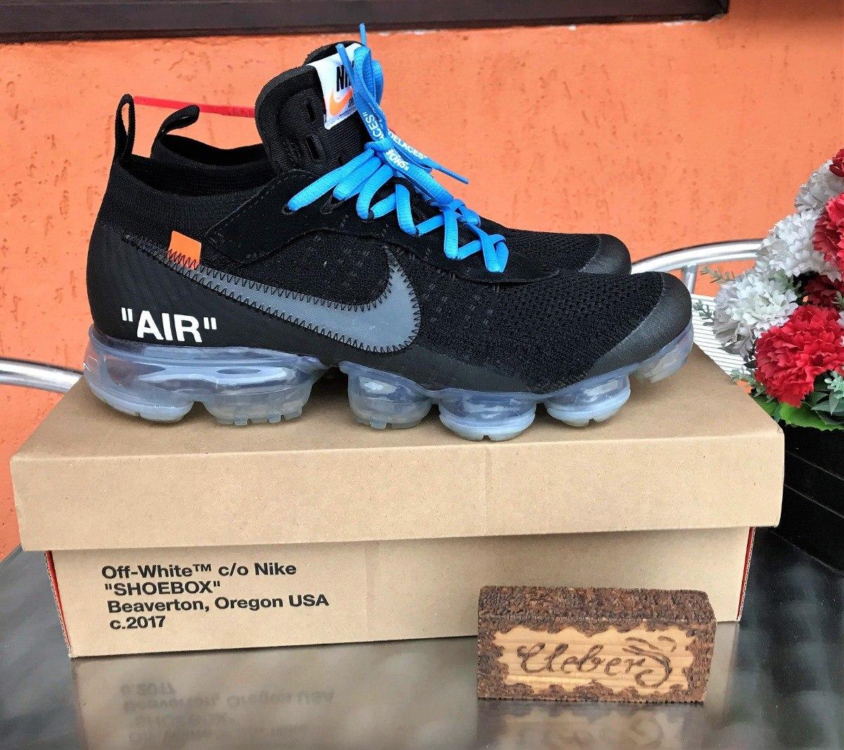 501a26cc12f tênis sneaker nike vapormax off-white tam 42 us 10 cond 9 10. Carregando  zoom.