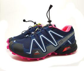 e16116f33 Tênis Speedcross 3 4 Trava Feminino Corrida Caminhada Frete