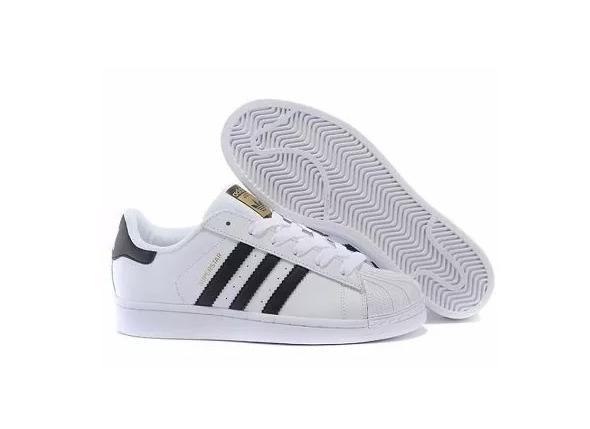 61d46a41dee Tênis Superstar adidas Branco-preto Foundation Original - R  220