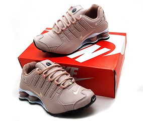 93beeaf4fb Tenis Nike Shox Cinza E Rosa - Tênis com o Melhores Preços no Mercado Livre  Brasil