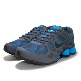 16c9b9cfc2b Tênis Nike Shox Turbo V Grafite E Cinza Frete Grátis - Tênis no ...