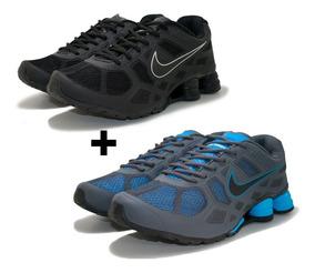 10ec9d1179977 Nike Shox Turbo 9 Original - Tênis Nike Azul-marinho com o Melhores Preços  no Mercado Livre Brasil