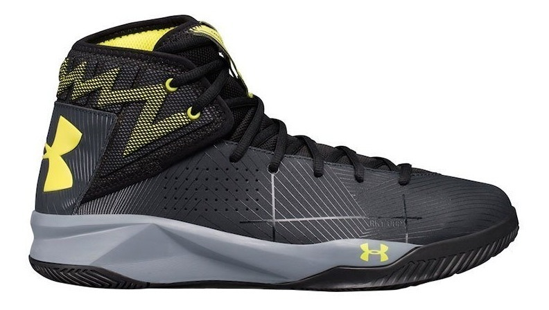 Tênis Under Armour Rocket 2 Preto Basquete Masculino Curry