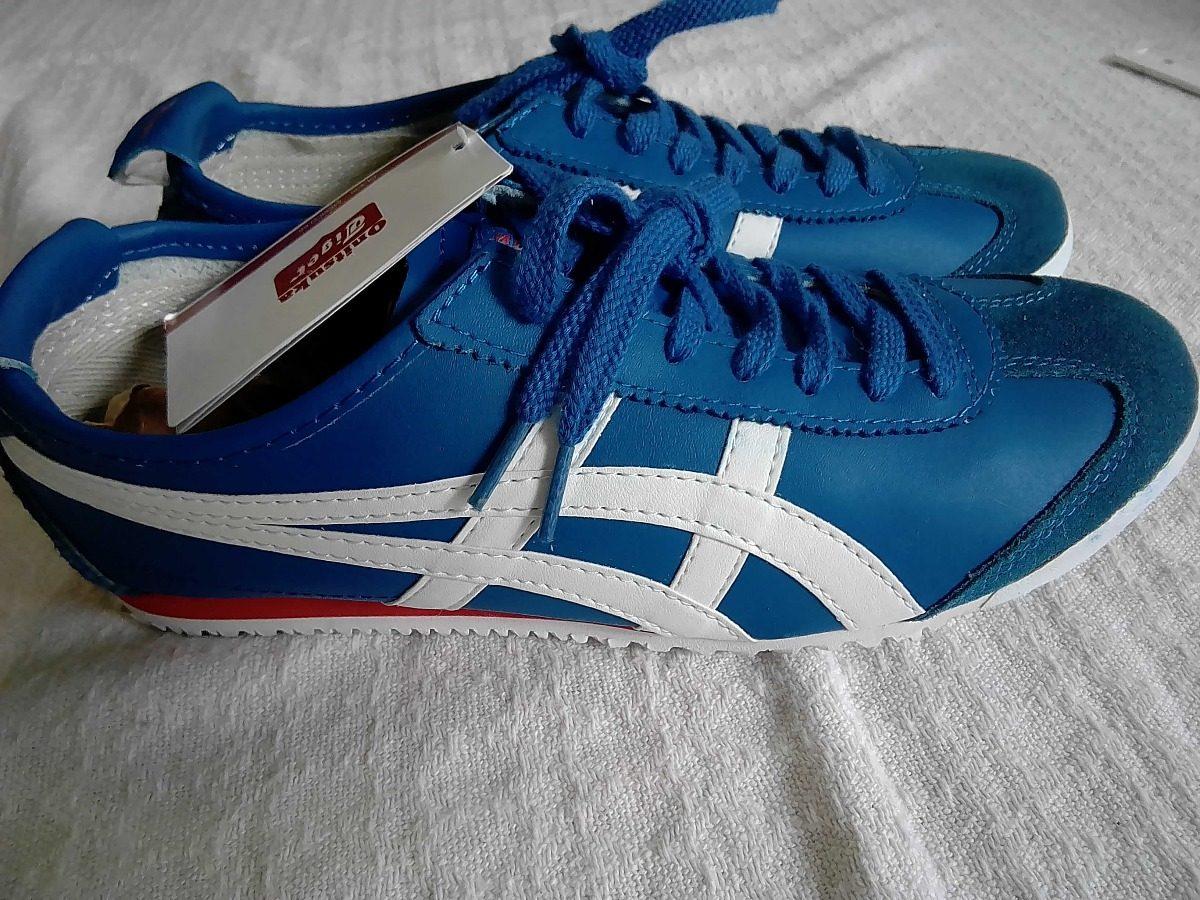 ... tênis unissex onitsuka tiger 66 pronta entrega cor azul. carregando zoom . 0a3fb48ae776a