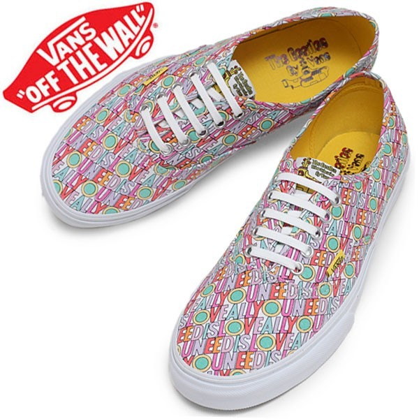 8f9cf53bf5ab7c Tênis Vans Authentic Beatles All You Need Is Love 42br 10usa - R  159