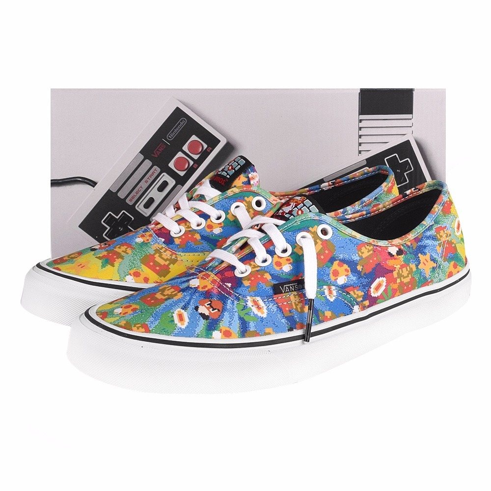 8151f5c7b4f Tênis Vans Authentic Nintendo Super Mario Bros Tam 35 - R  359