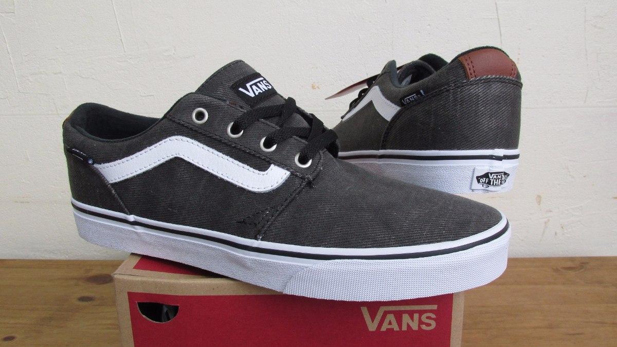 94893d25e11b24 Tênis Vans Chapman Old Skool Grafite Original - R  249