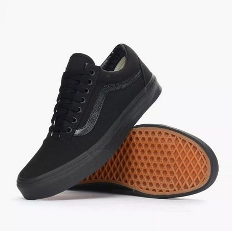4472ba2d3e3 Tênis Vans Classic Old Skool Preto Skate - R  70