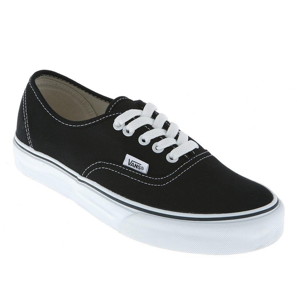 tênis vans classic u authentic black preto. Carregando zoom. 6dbd46ce39851