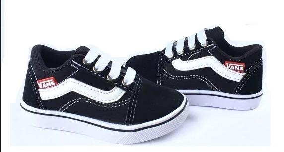 d0d14c86dcd Tênis Vans Infantil Old Skool Envio Imediato +brinde - R  55