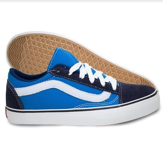 8bd7b6912542a Tênis Vans Old Skool Azul Marinho - Frete Grátis - R$ 129,90 em ...
