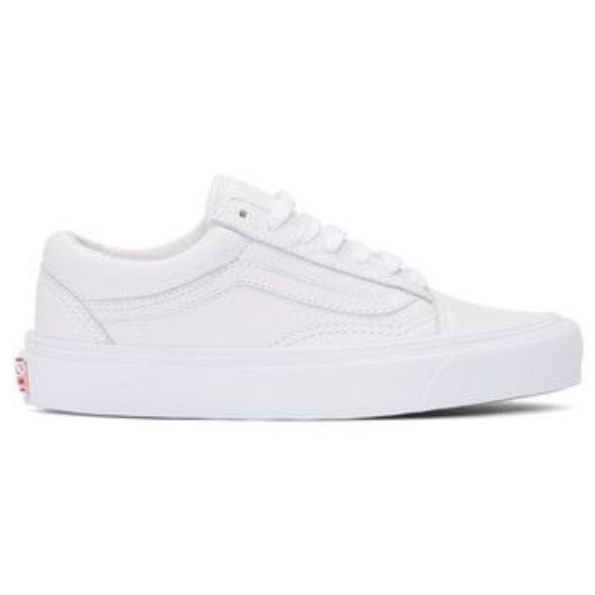 tênis vans old skool branco couro - frete grátis - promoção. Carregando  zoom. 61ea14f991414