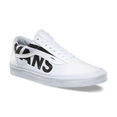 Tênis Vans Old Skool Branco De Couro Sintetico Promoção - R  239 1c1d09a906027