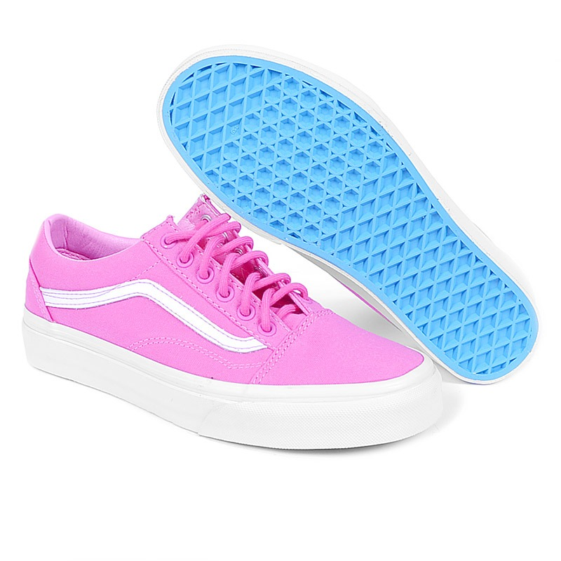 b6126427cc43 tênis vans old skool carmine rose true white. Carregando zoom.