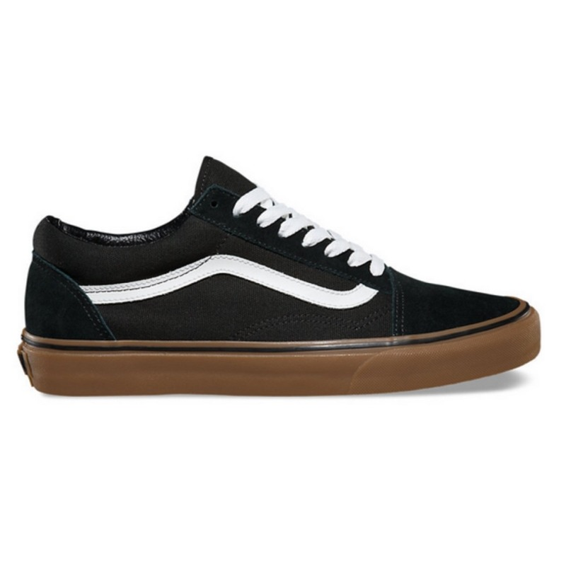 1778fdb0aec tênis vans old skool gumsole black medium gum. Carregando zoom.