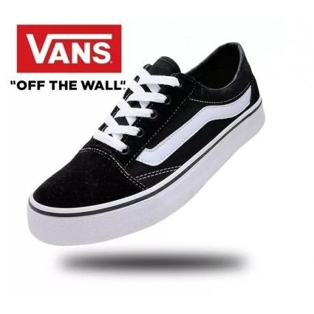Tênis Vans Old Skool Importado Skate Na Caixa - R  135 7d0e2317fa0