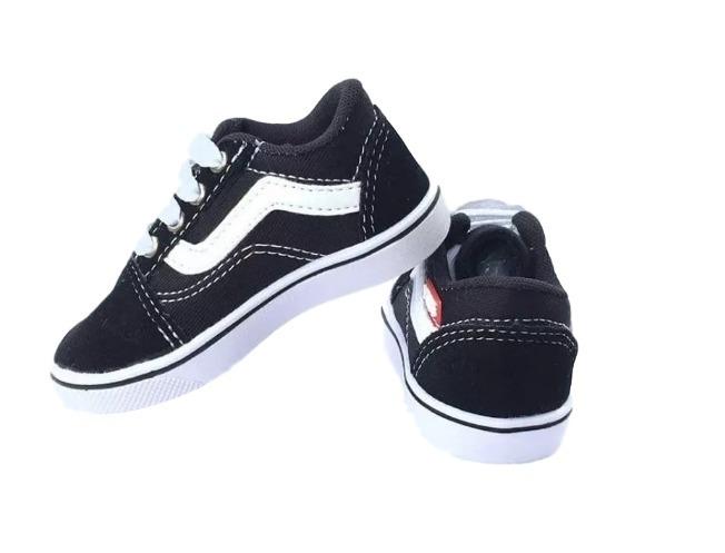 cfc89de09b9 Tênis Vans Old Skool Infantil Na Caixa Original - R  50