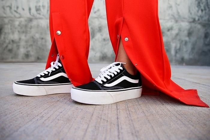 Tênis Vans Old Skool Platforma Preto E Xadrez Original! - R  439 c48f48ef227bd