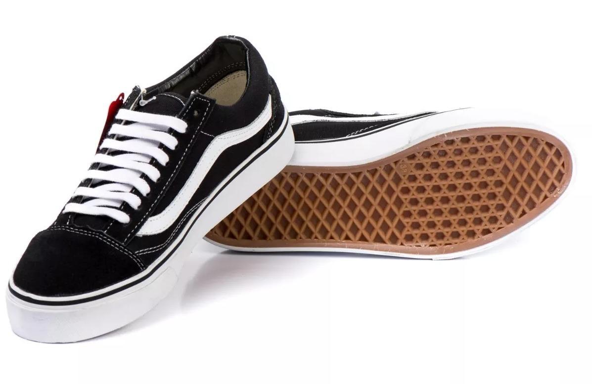 tênis vans old skool preto branco rosa skatista ft original. Carregando zoom . 32e5beaae8edf