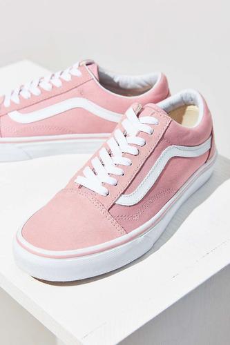 vans old school rosa e branco - aimas.it