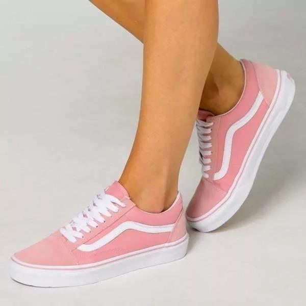 9dd4064e24f Tênis Vans Old Skool Skate Feminino E Masculino Na Caixa - R  129