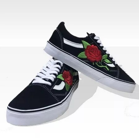 Tênis Vans Old Skool Skate Flor Lindo Original + Frete G - R  209 4033b9475f1f9