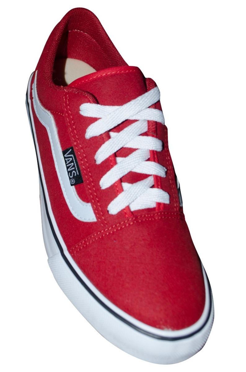 35639e42fd920a tênis vans old skool vermelho unissex + frete gratis. Carregando zoom.
